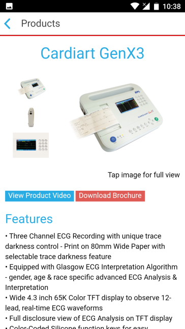 Product page - GenX3