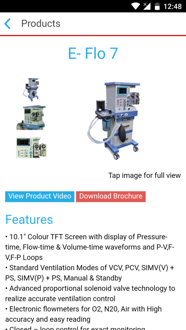 Product page - E Flo7